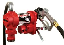 Fill Rite Fr1210h 12v Dc 15gpm Heavy Duty Fuel Transfer Pump With Manual Nozzle