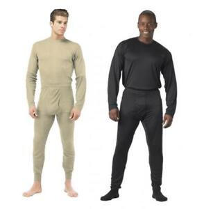Rothco ECWCS Gen III Level 1 Silk Weight Thermals Baselayer Thermal Underwear