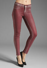 J BRAND 901 LOW- RISE COATED RUBY BULLET SUPER SKINNY SIZE 30 NWT