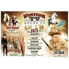 Western TV Round Up 85 TV Episodes DVD Set - The Roy Rogers Shows, The Cisco Kid