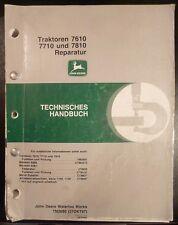 John Deere 7610 + 7710 + 7810 Werkstatthandbuch