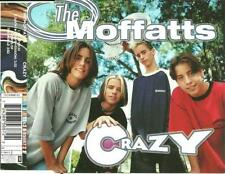 THE MOFFATTS Crazy UNRELEASE & RARE LIVE 3TRX CD Single
