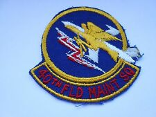 usaf  cloth patch of the 40th field maintenance  squadron