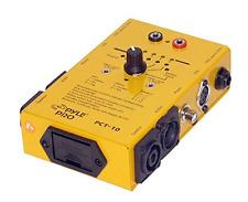 Pyle-Pro PCT10 8 Plug Pro Audio Cable Tester Trackers Calibrators LED Indicators