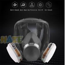6800 Gasmaske einstellen Volles Gesicht Gesichtsmaske Respirator Gesichtsschutz