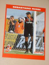 MILAN SEBASTIANO ROSSI 1995/96 CARTOLINA POSTCARD CALCIO UFFICIALE