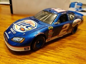 Kurt Bush Dodge 2007 Charger Miller Lite 1:24 Scale DieCast Owners Elite Penske