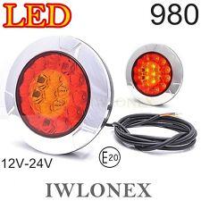 1 LED Rückleuchte HECKLEUCHTE MEHRFUNKTINSLEUCHTE HINTERE LEUCHE  E20 ABE 12-24V