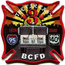 "Maryland - Baltimore City FD disbanded Engine 3 ""The Far East"" old style patch"