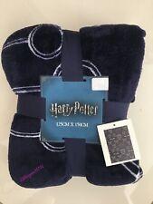 HARRY POTTER  Navy Fleece Throw Blanket Quidditch Primark Home