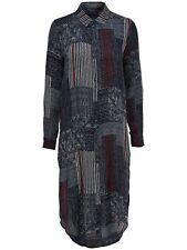 66/15 NEU ONLY Damen Hemd long Bluse onlPOET RADMILA PATCH LS LONG SHIRT  Gr. 38