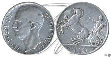Italia - Monedas Circulación- Año: 1927 - numero KM00068.1-27 - MBC 10 Liras 192