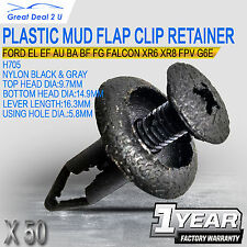 50for Ford EL EF AU BA BF FG Plastic Clip Retainers XR6 XR8 FPV G6E Turbo Falcon