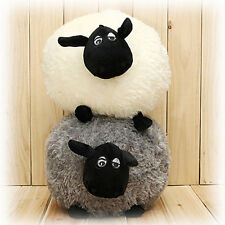 Portable Soft Animal Stuffed Sheep Plush Pillow Sofa Home Cushion Baby Toy Gift