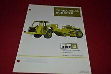 Terex TS-18 Scraper Pan Dealer's Brochure DCPA6