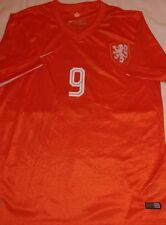 New World Cup #9 V Persie Netherlands Soccer Jersey Sz L