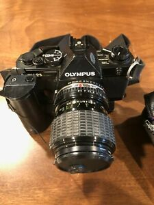 Olympus OM-2 35mm SLR Film Camera with Zoom lens and more!