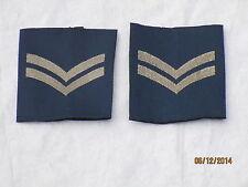 Royal Aeronautica, Corporal,Distintivo di grado ,blu, RAF Reggimento, 50x55mm