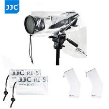 "JJC 2PCS 18""X7"" Water-Resistant Camera Rain Cover Protector for Canon Nikon DSLR"