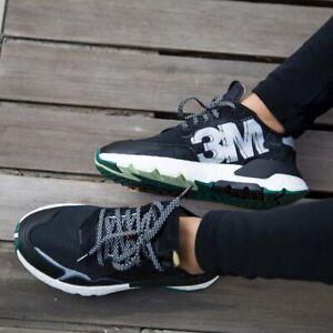 adidas Originals Nite Jogger 3M Boost Womens Running Shoes Size 6.5 - $130
