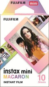 Fujifilm Instax Mini MACARON Film (10 Shots)