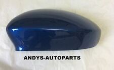 FIAT GRANDE PUNTO 06 - 2010 WING MIRROR COVER L/H OR R/H IN BLUE TEMERARIO
