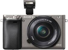 Sony Alfa 6000 incl. e PZ 16-50 mm 1 3 5-5 6 OSS gris grafito