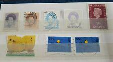 Nederland - various stamps - stamped