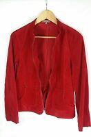 KATIES Red Corduroy Zip Up Women's Jacket SIZE 12