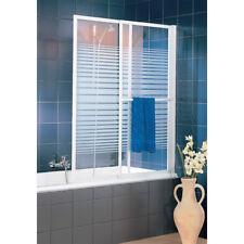Komfort Badewannenaufsatz auszieh- und schwenkbar Badewannenfaltwand