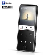 "AGPTEK Bluetooth MP3 HIFI Music Player 32GB FM Radio with 2.4"" TFT Screen Black"