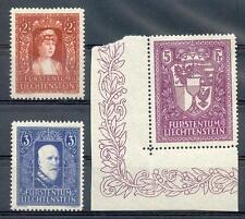 LIECHTENSTEIN 1933 140-142 ** POSTFRISCH TADELOS 1200€(F7692