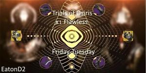 Trials of Osiris x1 Flawless [PC]