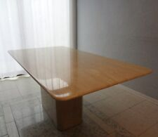 TABLE de SALLE à MANGER en TRAVERTIN 180 cm x 95 cm / TABLE / MARBRE TRAVERTIN