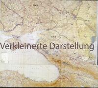 Heereskarten - Lage der Heeresgruppen Nord-Mitte-A-B von September-November 1942