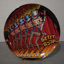 1993 Betty Boop Danbury Mint Limited Edition Collector'S Plate It'S Show Time