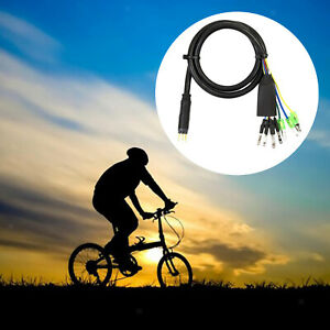 Motor Adapter Cable 60cm Male Connector 9 Pins for Electric Bike Durable