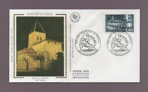 FDC 1994 - Länder De La Saulx - Kirche der Menil - Xiie Siècle (2428)