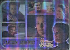 WOMEN OF STAR TREK VOYAGER 70  CARD BASE /BASIC HOLOFEX  SET