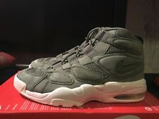 new concept bbe29 d52a3 Nike Air Max 2 Uptempo QS Olive Drab Green Cargo Khaki DS Sz 10 1 90