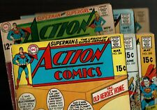 ACTION COMICS #s  369 371 386 388 389 392 * Superman Lot