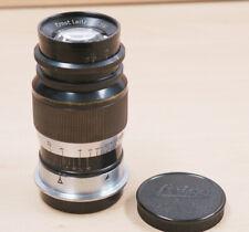 Leica Elmar 1:4/ 9cm extrem rare black/ nickel Version  12 Monate Gewähr !