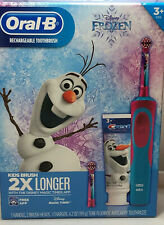 NEW ORAL B RECHARGEABLE TOOTHBRUSH DISNEY FROZEN BUNDLE PACK NEW Box Sealed
