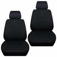 Fits 2012-2016 Suzuki Jimny  front set car seat covers  black