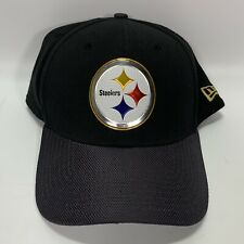 Pittsburgh Steelers New Era Black NFL 39Thirty Hat Large-XL