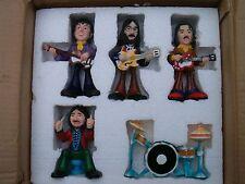 Beatles Rare  Vintage Figurines -As New in box. Lennon McCartney Ringo Harrison