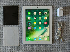 Apple iPad 4th Generation 16GB White A1458 Bundle