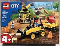 NEW Lego City Series 4+ 60252 Construction Bulldozer 126pc Building Toy Set