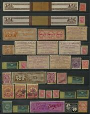 State Revenue Stamps lot of 75+