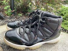 Air Jordan 11 Retro Basketball Shoes378037-002 Size 9.5M /43 Black Red Bulls ECU